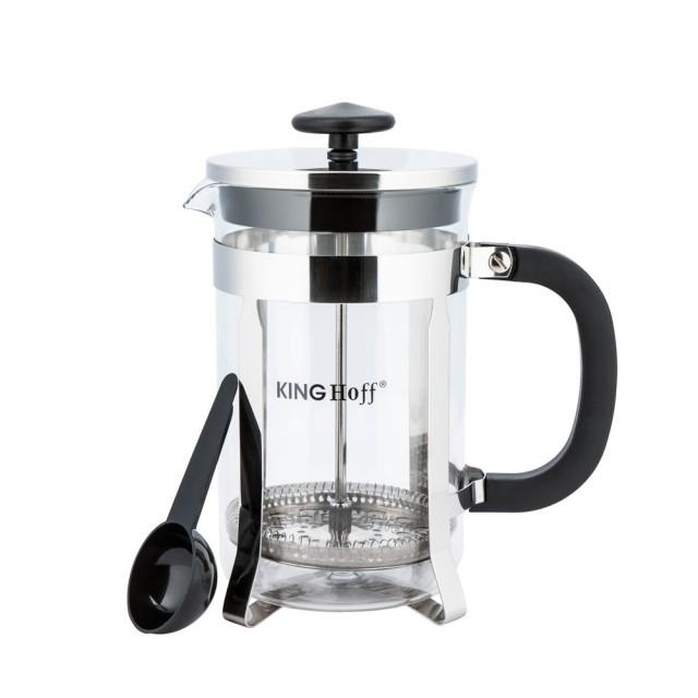 Infuzor din inox pentru ceai sau cafea KingHoff, capacitate 600 ml thumbnail