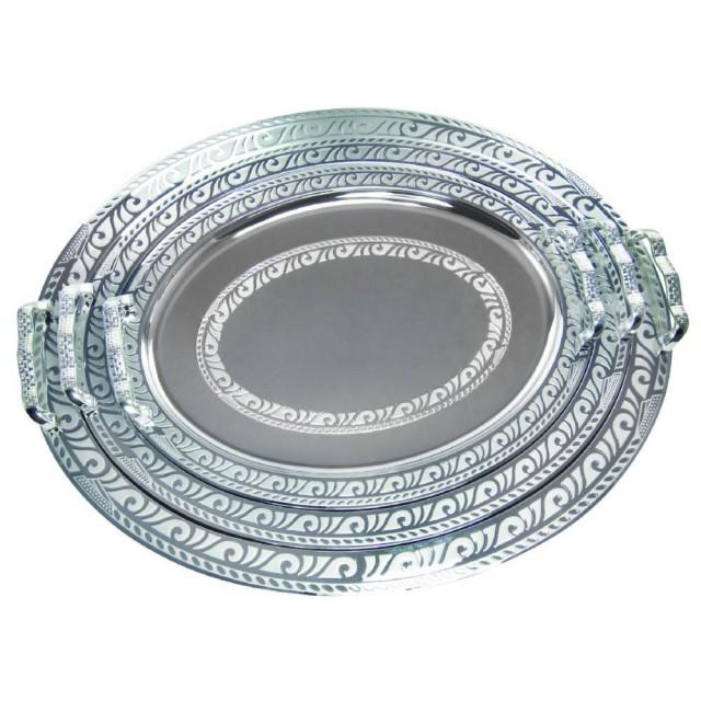 Set 3 tavi pentru servire KingHoff, lungime 37.5 cm, 43 cm si 49.8 cm, material inox thumbnail