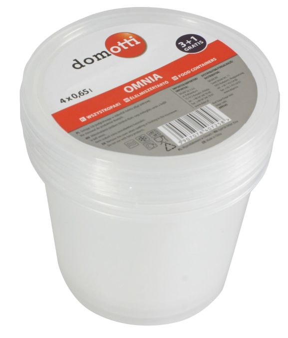 Set containere alimente 675ml 3+1 gratis Omnia thumbnail