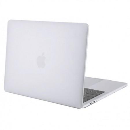 Carcasa protectie slim pentru laptop Apple MacBook Pro 15 inch, TouchBar, plastic, transparenta, model 2016-2019