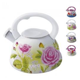 Ceainic email cu fluier Peterhof, capacitate 3.0 litri