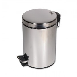 Cos gunoi menaj Z-INOX, material otel inoxidabil, capacitate 12 litri