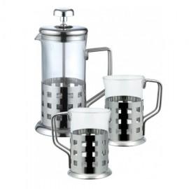 Set pentru ceai si cafea, infuzor si canite, 3 piese Renberg
