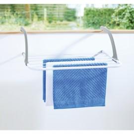 Uscator de rufe metalic pentru balcon, cada sau calorifer Zilan