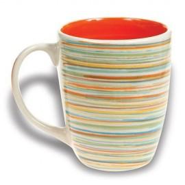 Cana din ceramica Nava, capacitate 350 ml, portocaliu