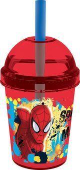 Pahar cu pai Spiderman