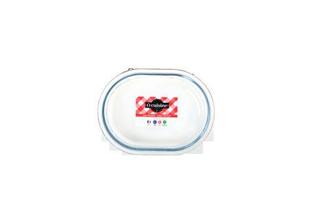 Vas termorezistent 19cm Glass Bakeware