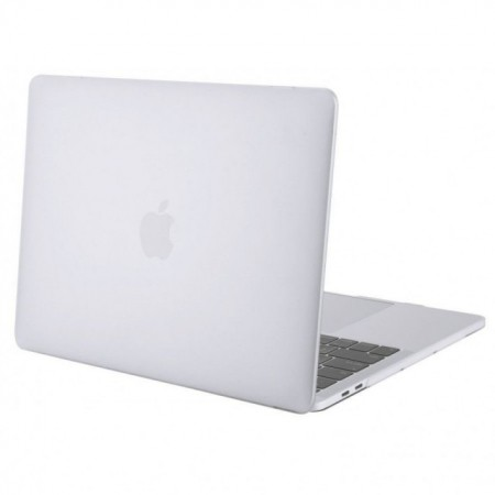 Carcasa protectie slim pentru laptop Apple MacBook 12 inch, plastic, transparenta, model 2015-2018