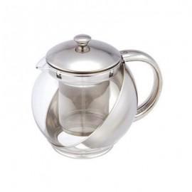 Ceainic din sticla cu sita Renberg, capacitate 1.1 Litri