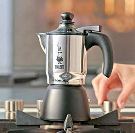 Espressor pentru aragaz Bialetti, capacitate 3 cupe, Seria Kremina
