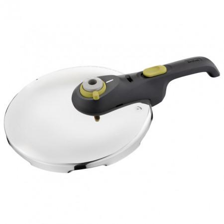 Set oale sub presiune Tefal Secure 5 Neo, capacitate 6 + 4 litri, inox, argintiu, inductie