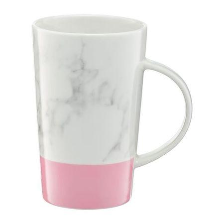 Cana 430ml roz Marble