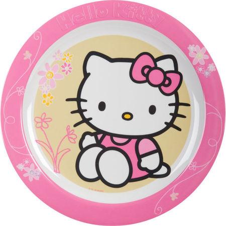 Farfurie intinsa 22cm Hello Kitty
