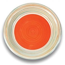 Farfurie mare din ceramica Nava, diametru 27 cm, portocaliu