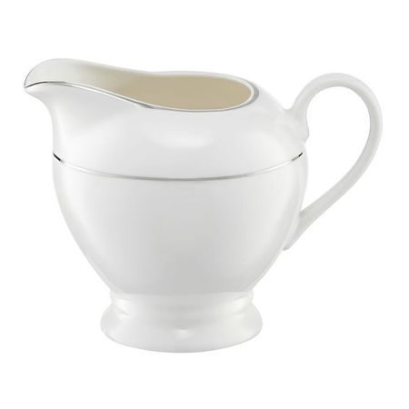 Cana Servire Lapte Aura Silver