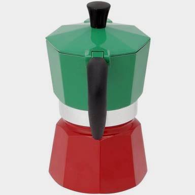 Espressor pentru aragaz Bialetti La Mokina, capacitate 1 cupe, tricolor