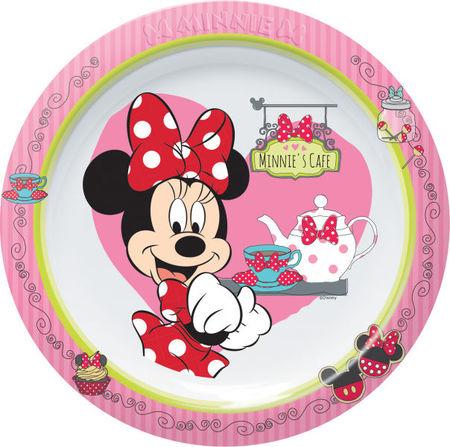 Farfurie intinsa 22cm Minnie Mouse