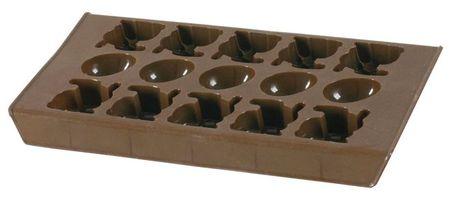 Forma silicon ciocolata si gheata 22x11,5cm Delice