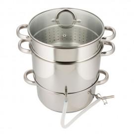 Oala pentru suc din fructe sau legume KingHoff, inductie, capacitate 5 litri