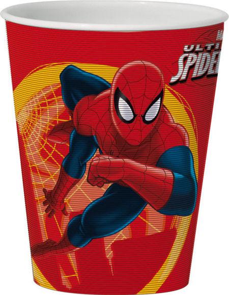 Pahar 3D 350ml Spiderman
