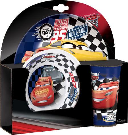 Set mic dejun 3 piese Cars