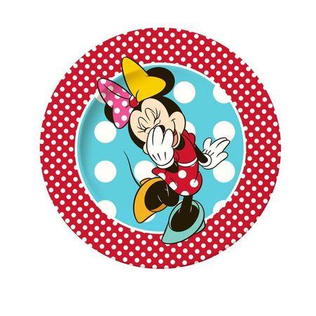 Farfurie portelan 19cm Magic Minnie Disney