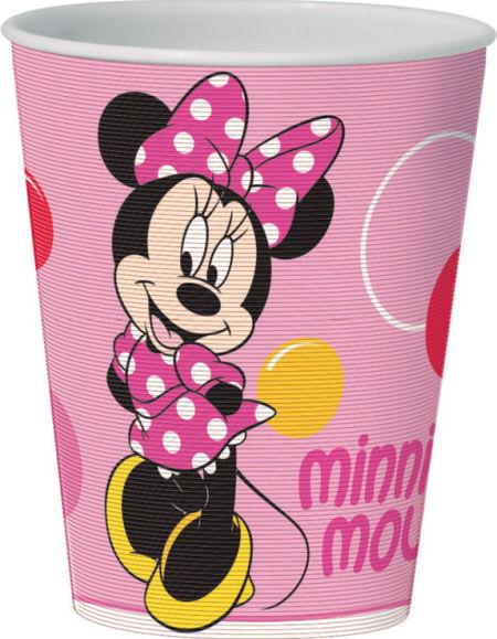 Pahar 3D 350ml Minnie Bubbles