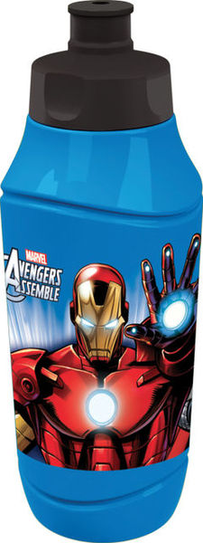Recipient apa cu pai 375ml Avengers