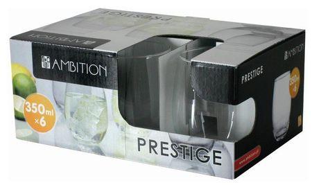Set 6 pahare 350ml Prestige