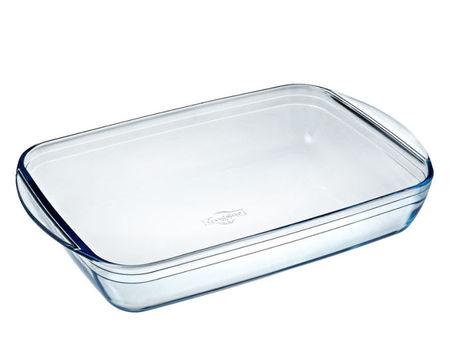Vas termorezistent 35x22cm Glassware Range