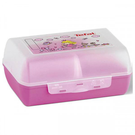 Caserola pentru copii TEFAL Variabolo K3160214, plastic, roz