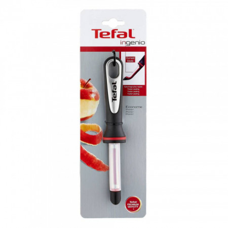 Curatator pentru legume Tefal Ingenio K2071014, negru-rosu