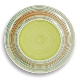 Farfurie mica din ceramica Nava, diametru 20,5 cm, verde