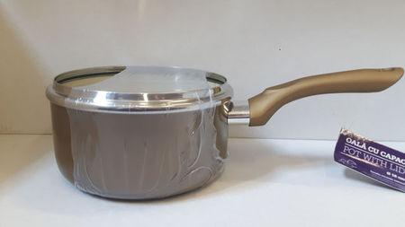 Cratita ceramica cu capac 16cm