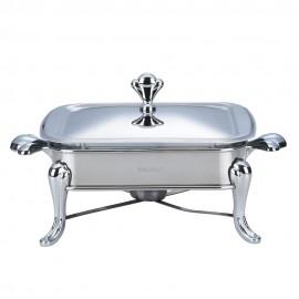 Vas cald (dish) KingHoff, inox, patrat, capacitate 1,8 litri