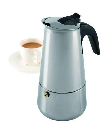 Cafetiera inox 200ml Vella 4 persoane