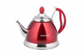 Ceainic inox cu sita Kinghoff, capacitate 1.0 litri