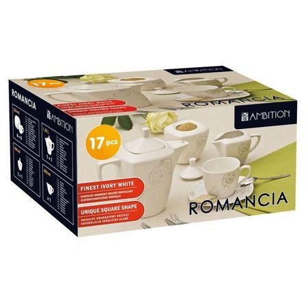 Serviciu de cafea 17 piese Romancia