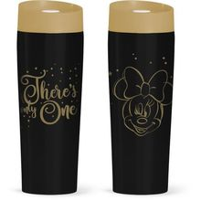 Cana termos Minnie Mouse gold 400ml