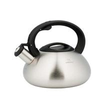 Ceainic din inox satinat cu fluier KingHoff, capacitate 3 litri, inductie