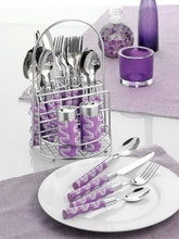 Set tacamuri Esmeyer Candy Wave Lila 104 103, 27 piese