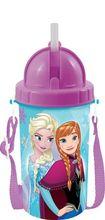 Bidon apa cu pai copii Frozen