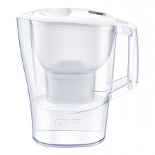 Cana filtranta BRITA Aluna 2,5 L, 1 filtru inclus Maxtra+ (white)