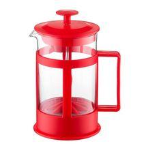 Filtru cafea 600ml, rosu, Lungo