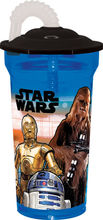 Recipient apa cu pai 350ml Star Wars