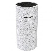 Suport pentru cutite King Hoff, inaltime 22 cm, alb