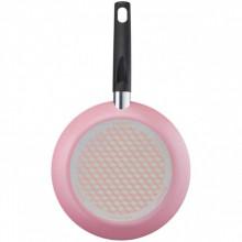 Tigaie cu interior anti-aderent Tefal Pastel Colors, 24 cm, roz, cod produs B3980432, cod ean 3168430291751