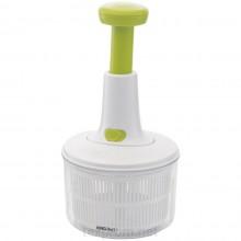 Dispozitiv cu centrifuga si lame din inox pentru salata si verdeturi KingHoff