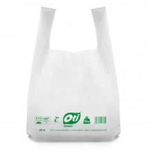 Sacose biodegradabile simple, 40x50 cm., 5 kg., 50 buc./set