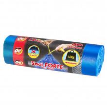 Saci menaj FORTE cu snur 60L, 60 x 70 cm, 12 buc./rola